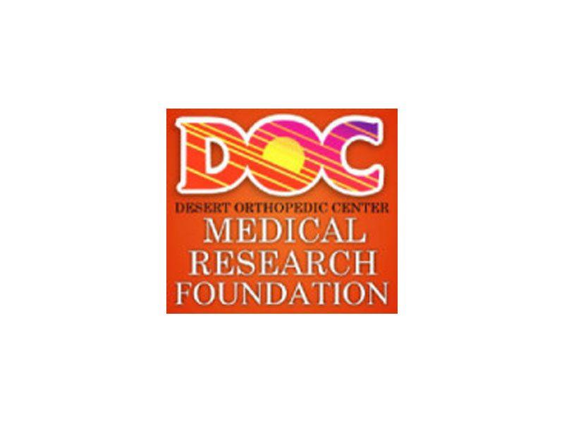 Desert Orthopedic Center Medical Research Foundation Desert