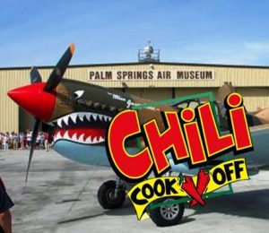Palm Springs Air Museum Chili CookOff Car Show Desert Charities - Palm springs car show