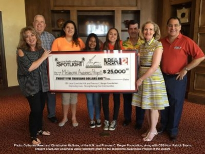 The H.N. & Frances C. Berger Foundation Presents Grant to increase awareness about Melanoma