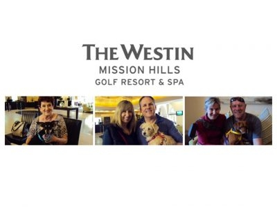 Westin Mission Hills Golf Resort & Spa Partners with Animal Samaritans on National Dog Day