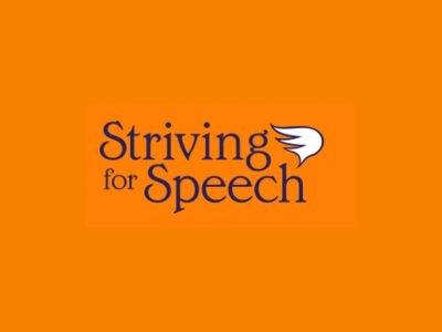Striving for Speech