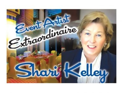 Event Artist Extraordinaire Shari Kelley