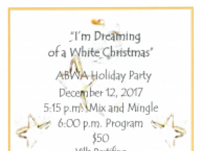 I'm Dreaming of a White Christmas Holiday Party
